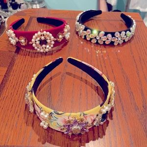 Brand New Headbands! Bundle includes all 3!